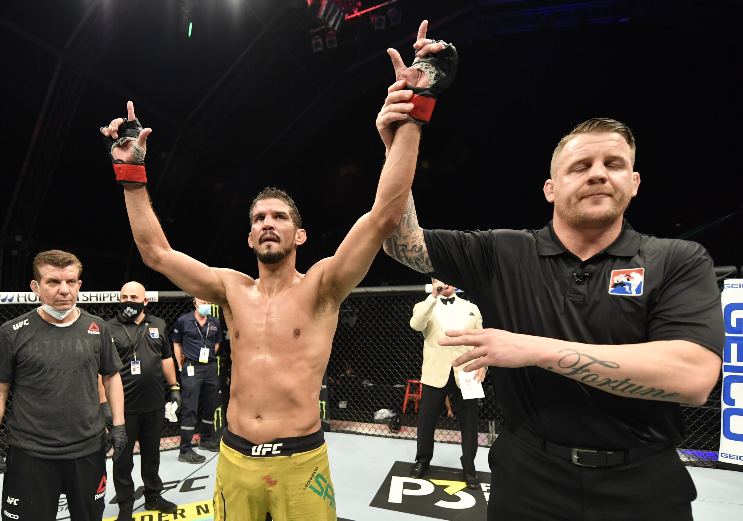 Léo Santos no UFC