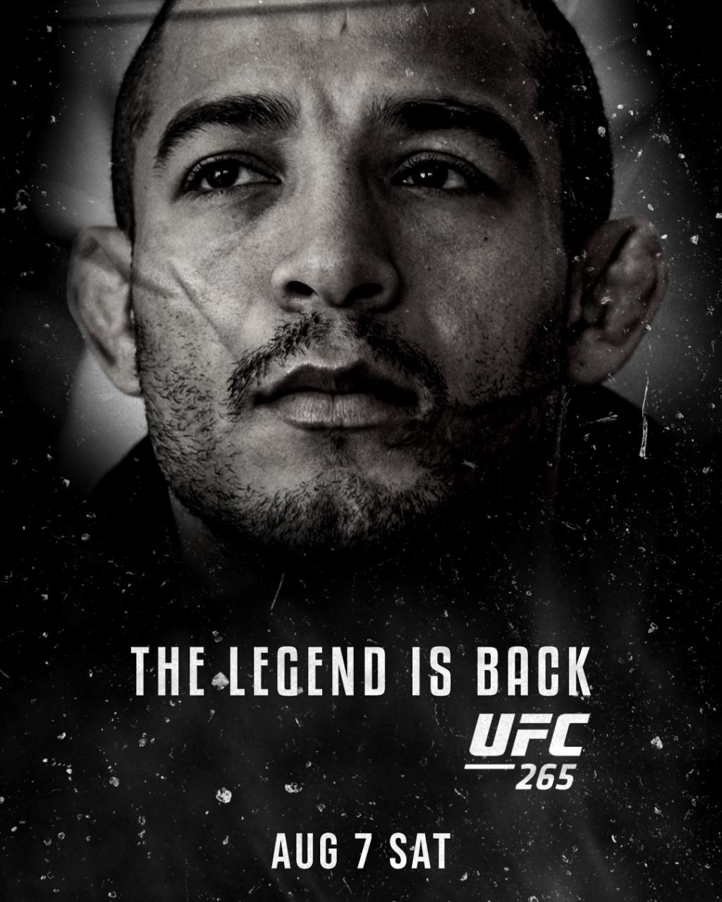 José Aldo UFC 265